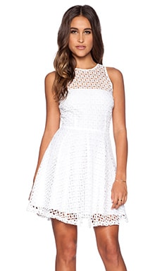 BB Dakota Danica Dress in Optic White