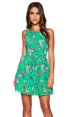 Jack by BB Dakota Kismet Dress in Grass Green