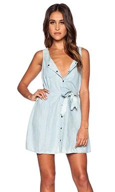 Jack by BB Dakota Gerrit Dress in Lt. Blue