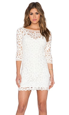 Leigh Dress in Ivory