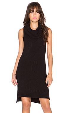 Marisa Sweater Dress in Black