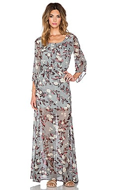 Jack by BB Dakota Ekko Maxi Dress in Multi