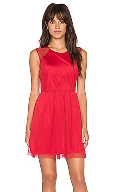 Jack by BB Dakota Eva Dress in Chili Pepper Red