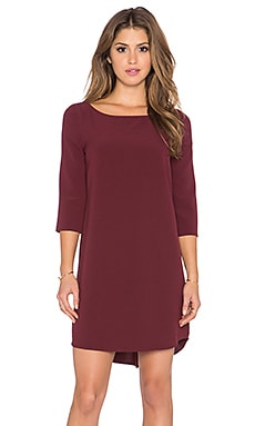 BB Dakota Devin Dress in Wine