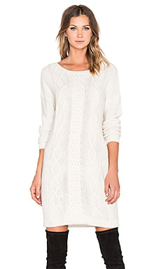 Jack by BB Dakota Scout Sweater Dress in Whisper White