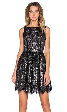 BB Dakota Sabrina Dress in Black