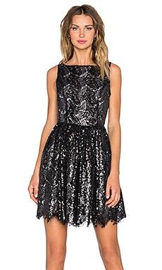 BB Dakota Sabrina Dress in Black