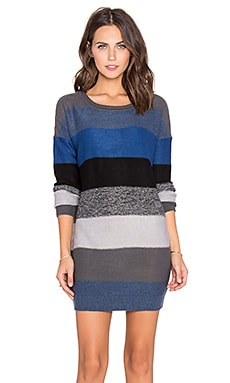 Jack by BB Dakota Marilou Sweater Dress in Blue