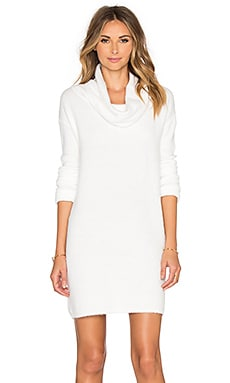 BB Dakota Leighton Sweater Dress in Ivory