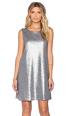 Jack by BB Dakota Harmonica Sequin Dress in Multi