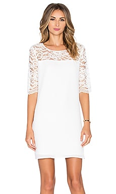 Fisher Lace Dress en Ivory