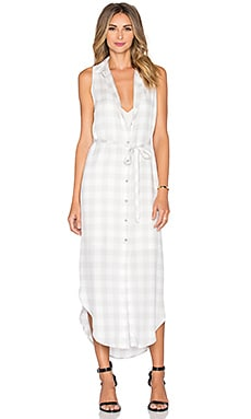 BB Dakota Lance Button Up Dress in Fog