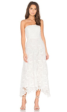 BB Dakota Eleanor Dress in White