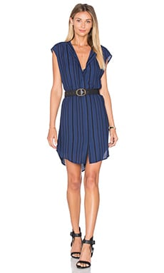 Broxton Dress in Blue Ridge