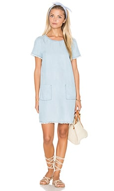 BB Dakota Rafe Dress in Light Blue