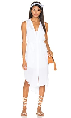 Alesha Dress in Optic White