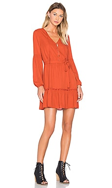 Jack By BB Dakota Mayella Dress in Rust