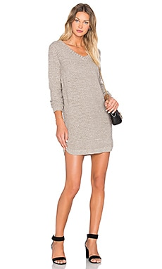 Jack By BB Dakota Merriweather Dress in Light Heather Grey