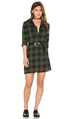 Holly-Anne Dress in Army Green