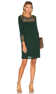 Elizabeth Dress en Hunter Green