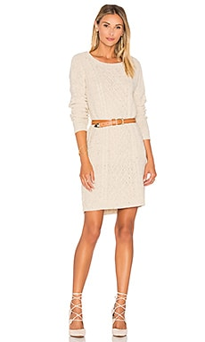Jack By BB Dakota Macey Sweater Dress in Ivory