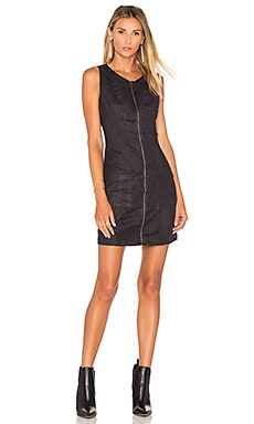 Jack By BB Dakota Marceline Faux Suede Mini Dress en Noir