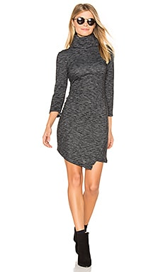 Jack By BB Dakota Noland Mini Dress in Dark Heather Grey
