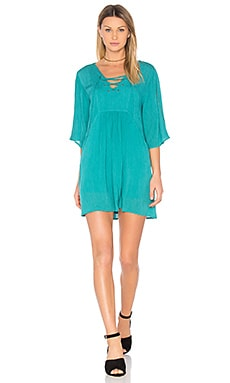 Jack by BB Dakota Becton Dress in Jade Green