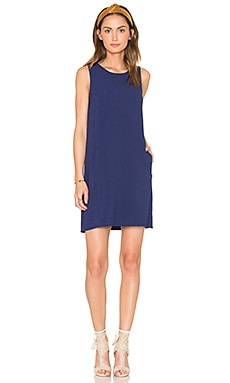 Jack by BB Dakota Ballard Dress in Lapis Blue
