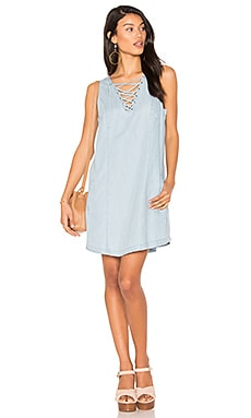 Jack by BB Dakota Gilbert Dress in Washed Out Chambray