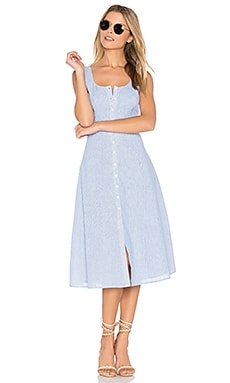 Lavinia Dress in Light Blue