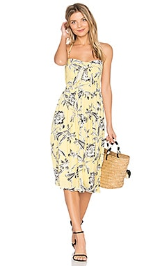 Joss Dress in Yellow