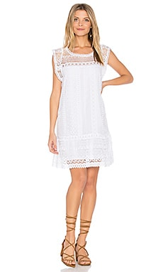 Milo Dress in Optic White