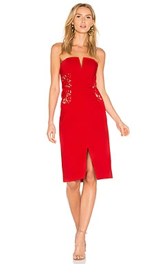 RSVP by BB Dakota Zina Dress in Ruby