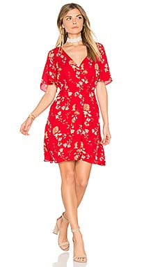 Laselle Dress in Red