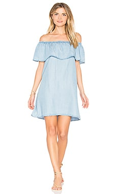 Maci Dress in Light Blue