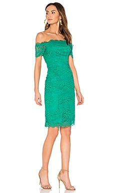RSVP by BB Dakota Moreen Dress in Leaf Green