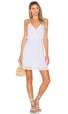 Melina Dress in Bright White