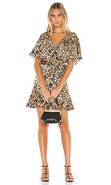 Wild Card Wrap Dress BB Dakota $71