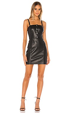 Nice & Cool Vegan Leather Dress BB Dakota $59