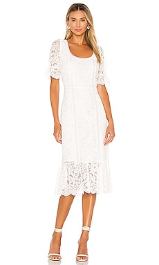 Just In Lace Midi Dress BB Dakota $120 NEW ARRIVAL