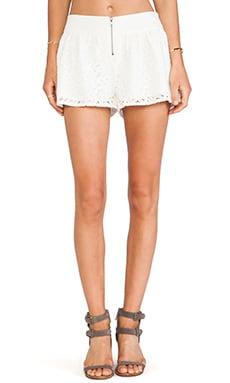 Amiri Crochet Lace Shorts