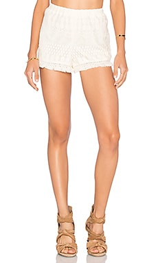 Jack By BB Dakota Juniper Short in Ivory
