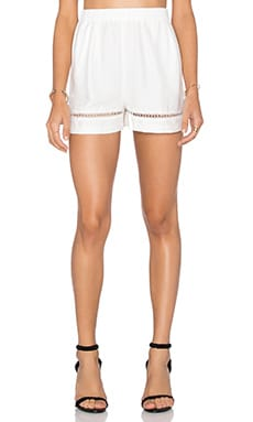 Elastic Waist Short in Ivory