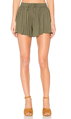 Jack by BB Dakota Calla Shorts en Fern Green