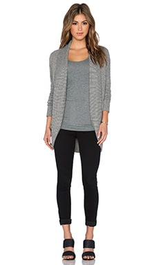 Jack by BB Dakota Myah Cardigan in Charcoal Grey