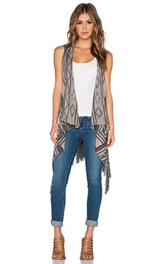 Jack by BB Dakota Damen Vest in Wheat Beige