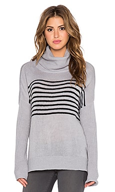 BB Dakota Carver Sweater in Dove Grey
