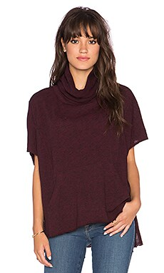 Jack by BB Dakota Aim Top in Merlot Burgundy
