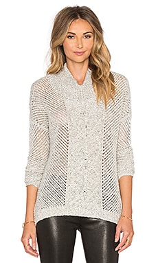 BB Dakota Jack by BB Dakota Samwell Sweater in Whisper White